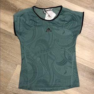 NWT Adidas Climacool Women's Capsleeve top